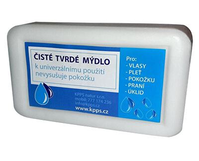 Koupelové Čisté tvrdé mýdlo - bílé 150 g