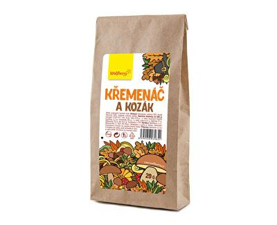 Wolfberry Křemenáč a Kozák - sušené houby 20 g<br /><strong>Křemenáč a Kozák</strong>