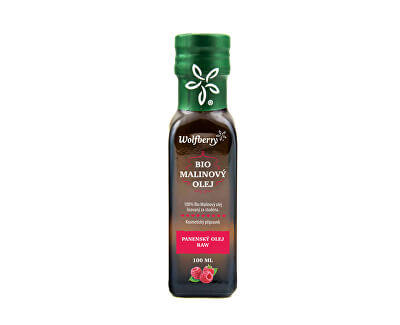 Wolfberry Malinový olej BIO 100 ml<br /><strong>Malinový olej</strong>