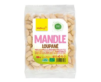 Mandle loupané BIO 100 g
