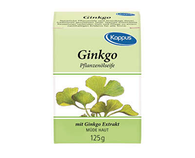 Kappus Mydlo s prírodným olejom Ginko biloba 125 g