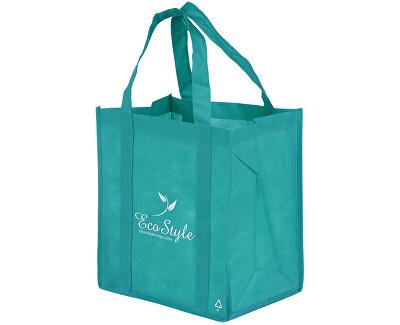 Nákupní taška ECO Style tyrkys