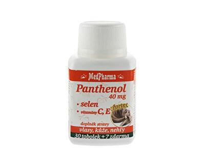 MedPharma Panthenol 40 mg + selén + vitamín C a E