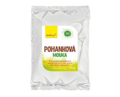 Wolfberry Pohánková múka BIO 400 g<br /><strong>Pohanková mouka</strong>