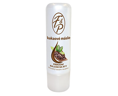 Přírodní balzám na rty Kakaové máslo 4 g