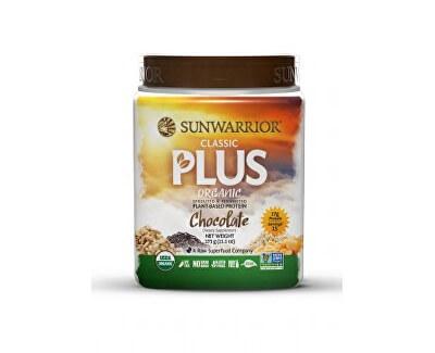 Sunwarrior Protein Plus BIO čokoládový 375 g