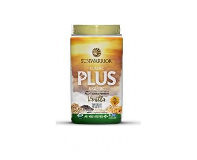 Sunwarrior Protein Plus BIO vanilkový 750 g