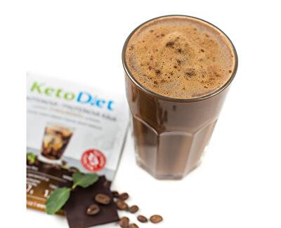 Proteinová ledová káva s čokoládovou příchutí (7 porcí)