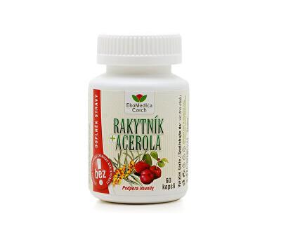 EkoMedica Czech Rakytník+Acerola 60 kapslí