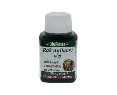 MedPharma Rakytníkový olej – 100% olej z rakytníku 30 tob. + 7 tob. ZDARMA