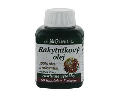 Rakytníkový olej – 100% olej z rakytníku 60 tob. + 7 tob. ZDARMA