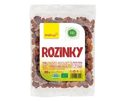 Wolfberry Hrozienka BIO 100 g<br /><strong>Rozinky BIO</strong>