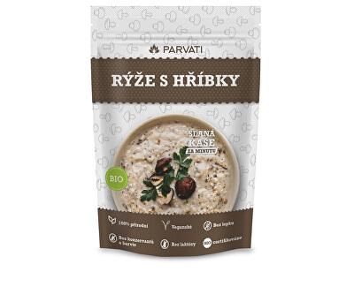 Rýže s hříbky