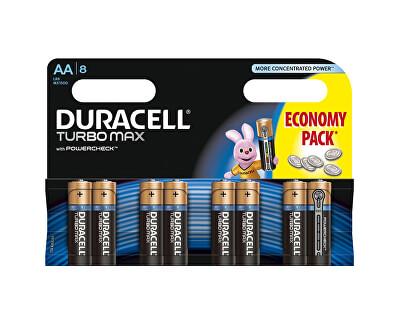 Duracell Baterie Turbo MAX AA 1500 K8 Duralock