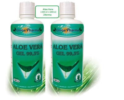 Unios Pharma Aloe vera gél 99,5% 1 l + Aloe vera gél 99,5% 1 l ZD ARMA