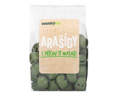 Country Life Arašidy s príchuťou wasabi 100 g<br /><strong>Arašídy s wasabi</strong>