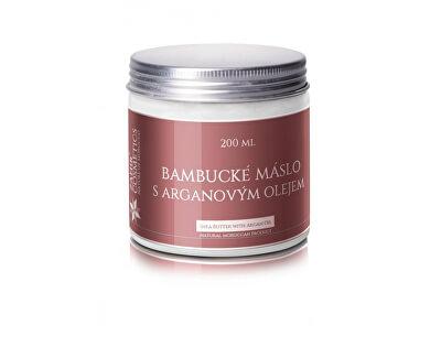 Záhir cosmetics s.r.o. Bambucké maslo s arganovým olejom 200 ml