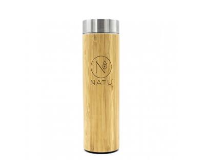 Natu Bambusová termofľaša so sitkom 500 ml