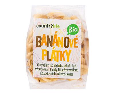 Country Life Banánovej plátky BIO 100 g<br /><strong>Banánové plátky</strong>