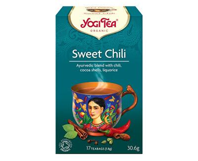Yogi Tea Bio Sladké chili Yogi Tea 17 x 1,8 g