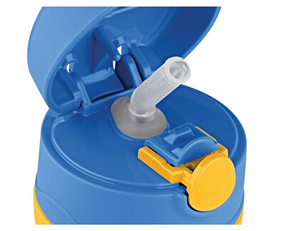 Foogo dojčenská termoska - modrá 290 ml