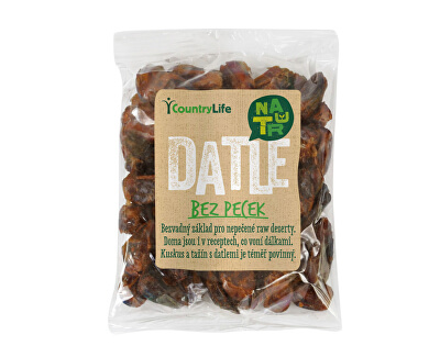 Country Life Datle sušené bez pecek<br /><strong>Datle sušené</strong>