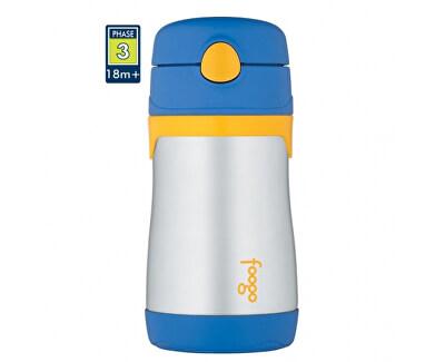 Thermos Foogo dojčenská termoska - modrá 290 ml