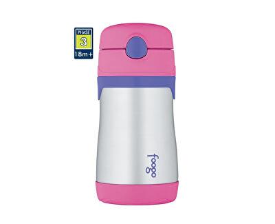 Thermos Foogo dojčenská termoska - ružová 290 ml