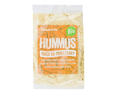 Country Life Hummus směs na pomazánky BIO 200g<br /><strong>Hummus BIO</strong>