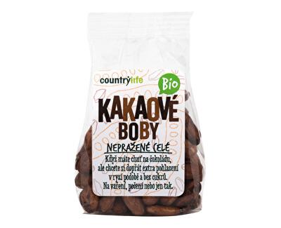 Country Life Kakaové bôby nepražené celej BIO 100 g<br /><strong>Kakaové boby celé</strong>