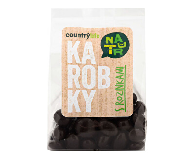 Country Life Karobky s rozinkami 100 g<br /><strong>Karobky s rozinkami</strong>