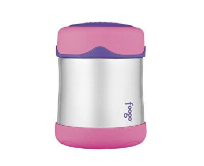 Thermos Dojčenská termoska na jedlo - ružová 290 ml