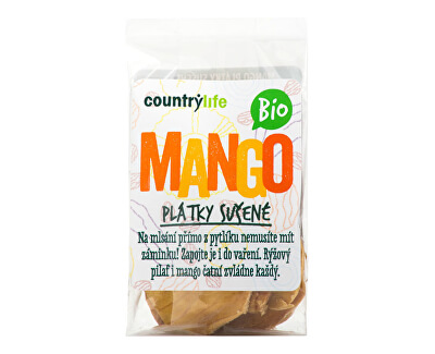 Mango plátky sušené BIO 80g