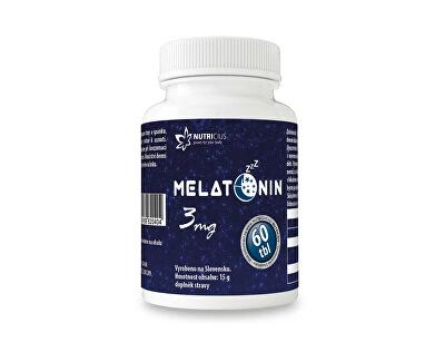 Nutricius Melatonin 3 mg 60 tbl.