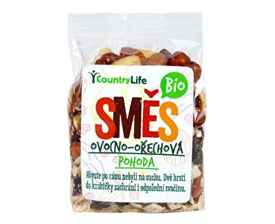 Country Life Směs ovocno-ořechová POHODA BIO 150 g<br /><strong>Směs ovocno-ořechová</strong>