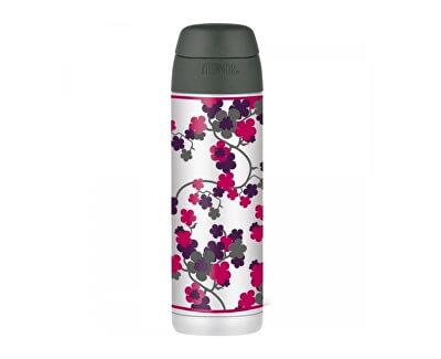 Style Termoska na nápoje s brčkem - třešňový květ 530 ml