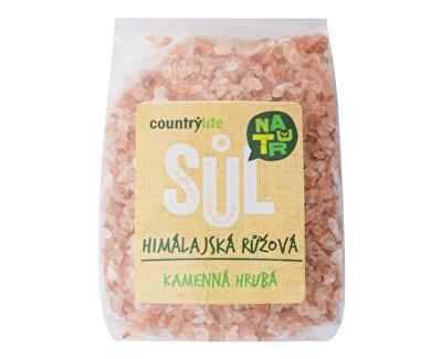 Country Life Soľ himalájska ružová hrubá 500 g<br /><strong>Sůl himálajská růžová</strong>