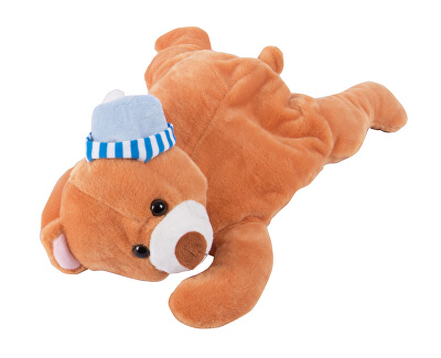 Termofor v plyšové hračce BR-445H Hnědý medvídek