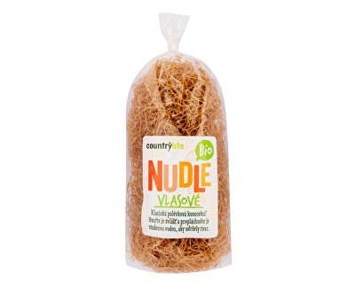 Country Life Těstoviny nudle pšeničné vlasové BIO 200g<br /><strong>Nudle pšeničné BIO</strong>