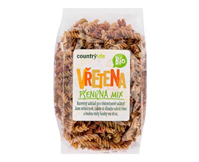 Country Life Těstoviny vřetena pšeničná mix BIO 400g<br /><strong>Těstoviny vřetena BIO</strong>