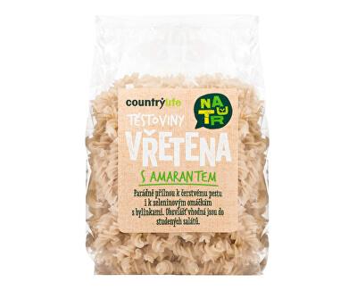 Country Life Cestoviny vretená s amarantom 300 g<br /><strong>Těstoviny s amarantem</strong>