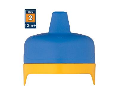 Thermos Tvrdé fontánka s pitnou vodou pre dojčenskú termosku a fľašu - modré