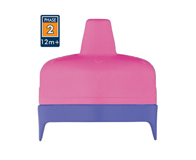 Thermos Tvrdé fontánka s pitnou vodou pre dojčenskú termosku a fľašu - ružové