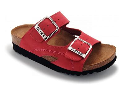 Scholl Zdravotná obuv Moldava WEDGE AD - červená