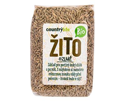 Country Life Žito ozimé BIO 500g<br /><strong>Žito ozimé BIO</strong>