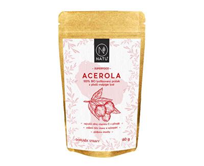 100% BIO prášek z plodů aceroly 60 g