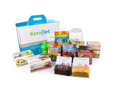 KetoDiet 3 týdenní proteinová dieta - Balíček MEDIUM 1. krok pro ženy (105 porcí)