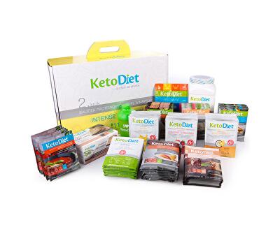 KetoDiet 4 týdenní proteinová dieta - Balíček INTENSE 2. krok pro ženy (112 porcí)