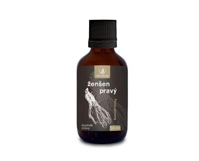 Allnature Ženšen pravý bylinné kvapky 50 ml