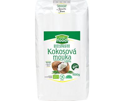 Ekologická bezlepková kokosová mouka 100% 1000g BIO